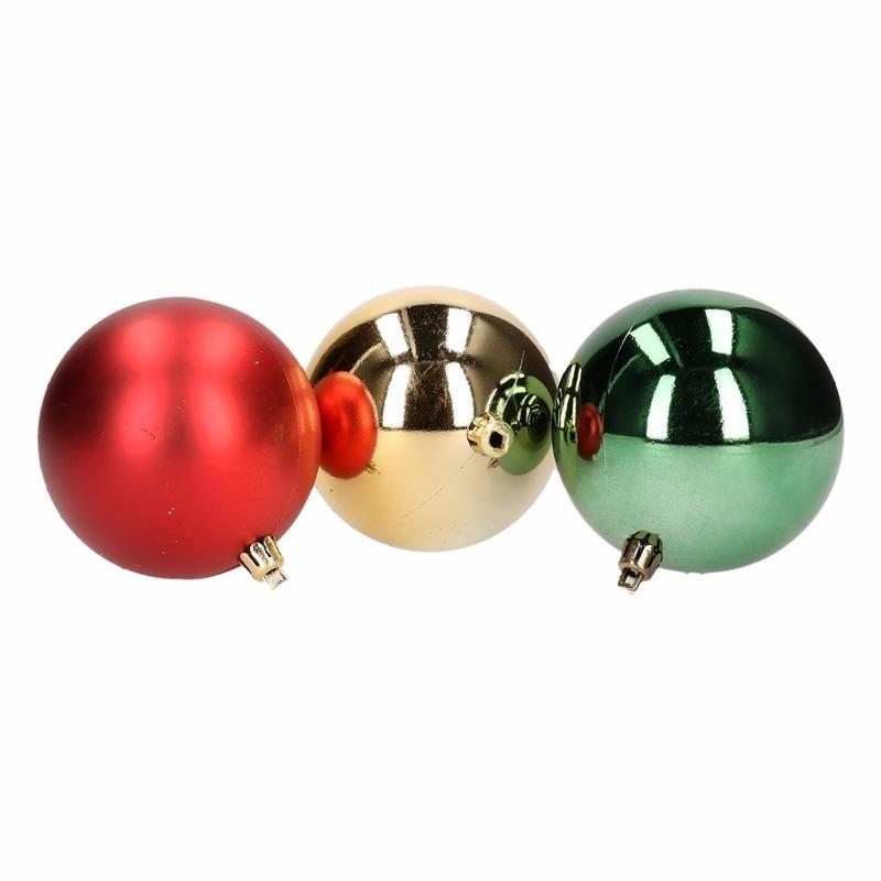 Kerstboom Decoratie Kerstballen Mix Rood Groen 5 Stuks Bestellen
